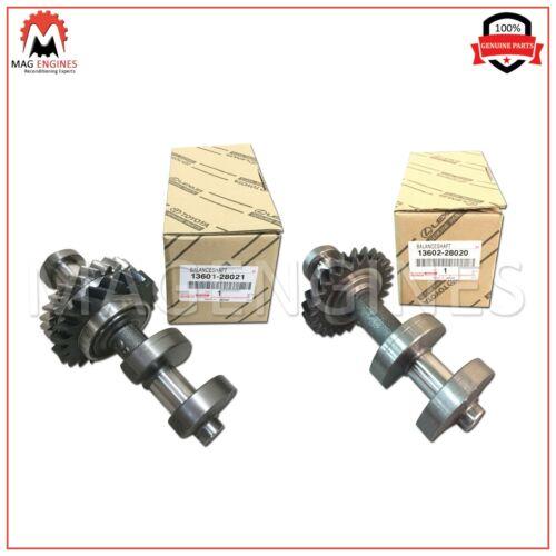 13601-28021 13602-28020 GENUINE PAIR OF NO.1 /& NO.2 BALANCE SHAFT SUB-ASSY