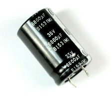2pc Electrolytic Capacitor Snap in Can HP 22000uF 35V 105℃ 2000hrs φ35x45mm SC
