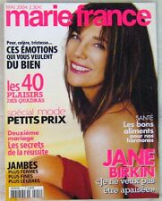 Revue Marie France Mai 2004 Jane Birkin