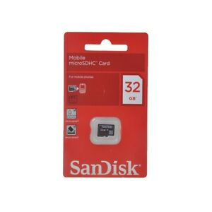SanDisk-32GB-MicroSD-HC-Class-4-Memory-Card-32G-GIG-SDSDQM-032G-Retail-Package
