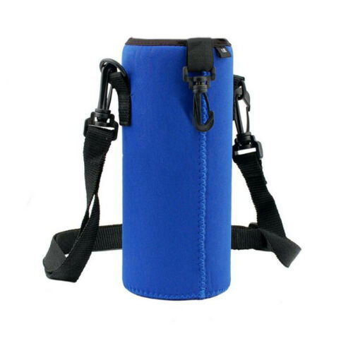 1000ML Water Bottle Carrier Insulation Bicycle Camping Bags Holder Strap Pouch