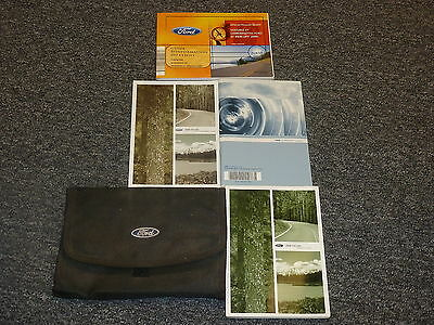 ford escape owner owners operator manual xls xlt