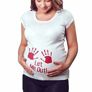 UK Pregnant Women Maternity Clothes Baby Is Coming Printed Tops Mom T-Shirt Top