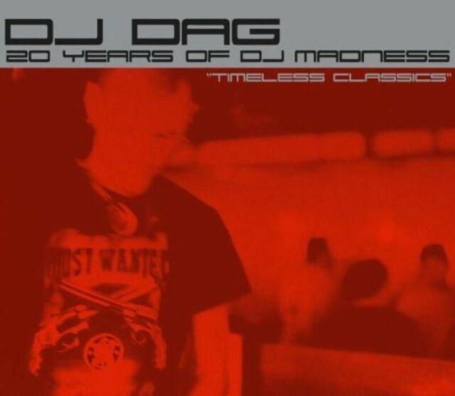 DJ DAG = 20 Years of Dj Madness = 2CD = TRANCE TECHNO NEW BEAT !!