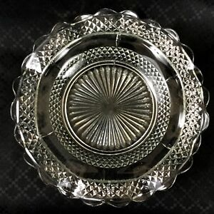 Art-Deco-Glass-Shallow-Bow-Dish-Plate