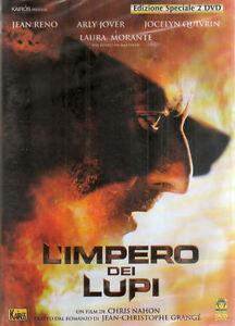 L-039-Impero-dei-lupi-Edizione-speciale-2-dischi-con-Jean-Reno-2005-DVD-NUOVO