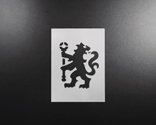 Chelsea fc pochoir aérographe wall art craft football sports home diy réutilisable