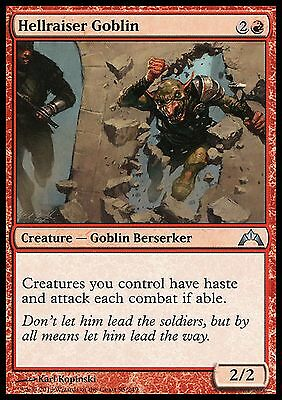 Hellraiser Goblin  EX/NM  x4   Gatecrash MTG Magic Cards Red Uncommon