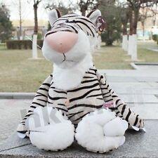Lovely new white stripe tiger Stuffed Animals soft toys plush doll 25 CM toys