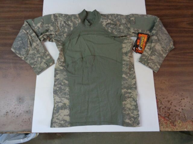 b902cc045aee NEW Massif Flame Resistant FR Army Combat Shirt ACU X-Large XL