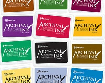 Wendy Vecchi Designer Archival Ink Permanent Waterproof YOU PICK FROM 21 COLORS