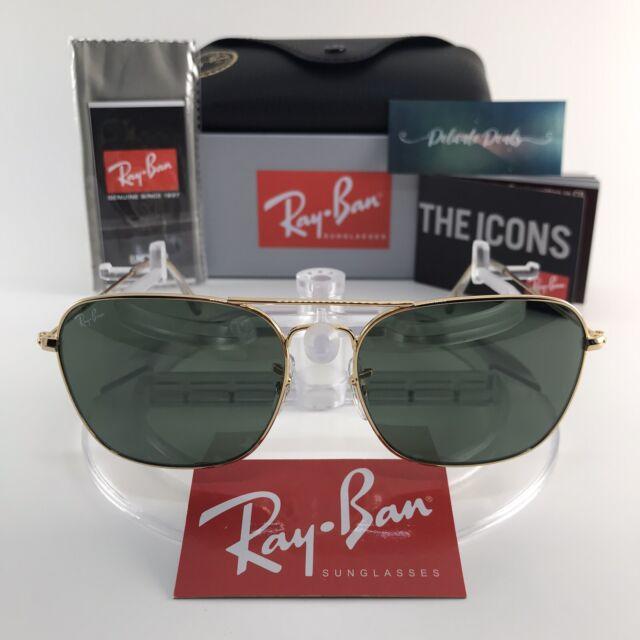 ray ban mens sunglasses gold frame