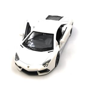Modello-Di-Auto-Lamborghini-Aventador-auto-sportive-bianco-auto-1-3-4-39-con-licenza