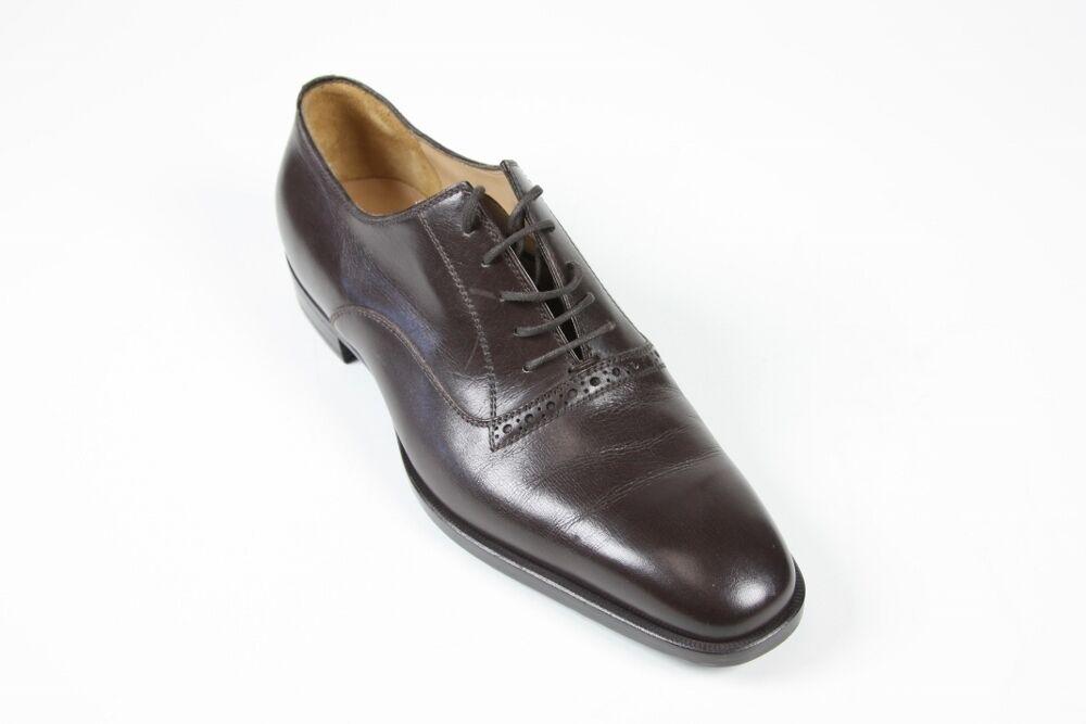 Sutor Mantellassi Shoes: 7 UK / 8 US Dark brown oxfords Scarpe classiche da uomo
