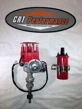 BBF Ford 351C 429 460 V8 Coil Hei Distributor 50,000 50k Volt w// Black Cap