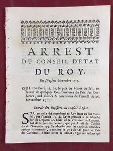 Aude-Les-Corbieres-en-1717-Aude-Minot-de-sel-Languedoc-Secheresse