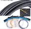 Neu 3M Fahrrad Bremse Umwerfer Kabel Gehäuse 5mm Geflochtene Schlauch 4 Farben