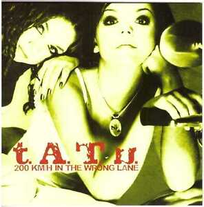 T.A.T.U. 200 Km/H in the Wrong Lane CD Top Synth-Pop w/ All the Things She Said