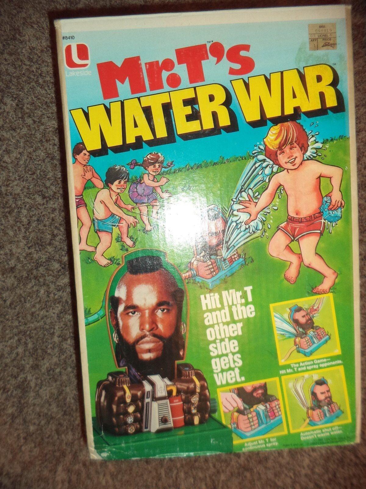 MR.T'S MR.T'S MR.T'S WATER WAR (NIB) RARE LOOK 0c7d40