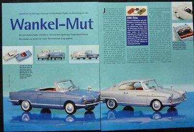 ' 59 Nsu Sport Principe In 1-43 Di Minichamps... Un Modello Relazione #2001-mostra Il Titolo Originale