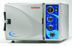 TUTTNAUER-2540M-MANUAL-AUTOCLAVE-STEAM-STERILIZER-BRAND-NEW