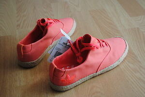 finest selection 2b97b 10a61 Image is loading Adidas-Azurine-Low-Espadrille-W-size-38-5-