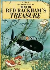 The Adventures of Tintin Original Classic: Red Rackham's Treasure by Hergé (1974, Paperback, Reprint)