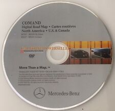 Mercedes Benz Navigation DVD COMAND Map Update 2012 v.11.0 US CANADA CL S CLASS