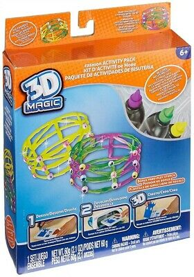 New 3D Magic Butterfly Or Dinosaur Refill Pack Stencils Molds /& Gels Official