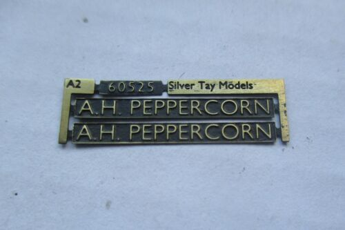 nameplate:60525 /'A.H Peppercorn/' LNER A2 00 Gauge 4mm suit //Bachman
