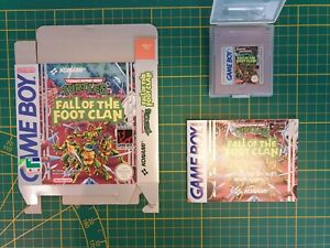 NEUF-TURTLES-BACK-FROM-THE-SEWERS-OVP-Nintendo-Gameboy-Game-boy-Boxed-boite-FAH
