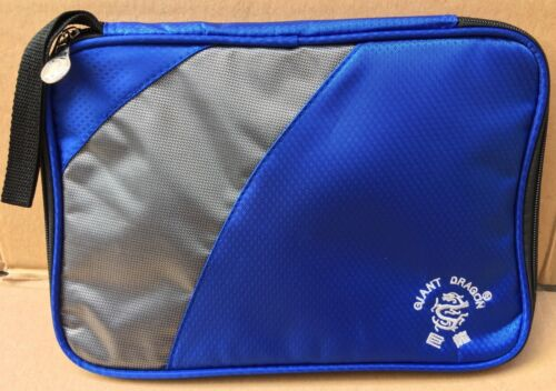 GIANT DRAGON TABLE TENNIS ACCESSORY AND BAT ZIP BAG NEW SIZE 30 X 23CM