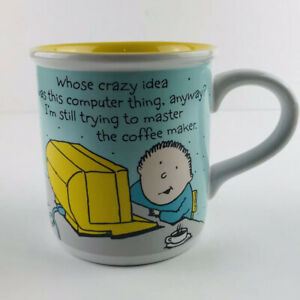 American-Greetings-Designers-Collection-Crazy-Computer-Master-A-Coffee-Maker-Mug