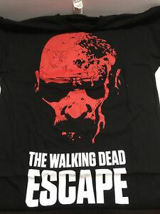 Walking-Dead-2014-Escape-Tour-Size-S-Small-Kirkman-Skybound-T-Shirt