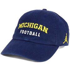 Michigan Wolverines Football Nike H86 Heritage Jordan Jumpman OSFM Cap Hat
