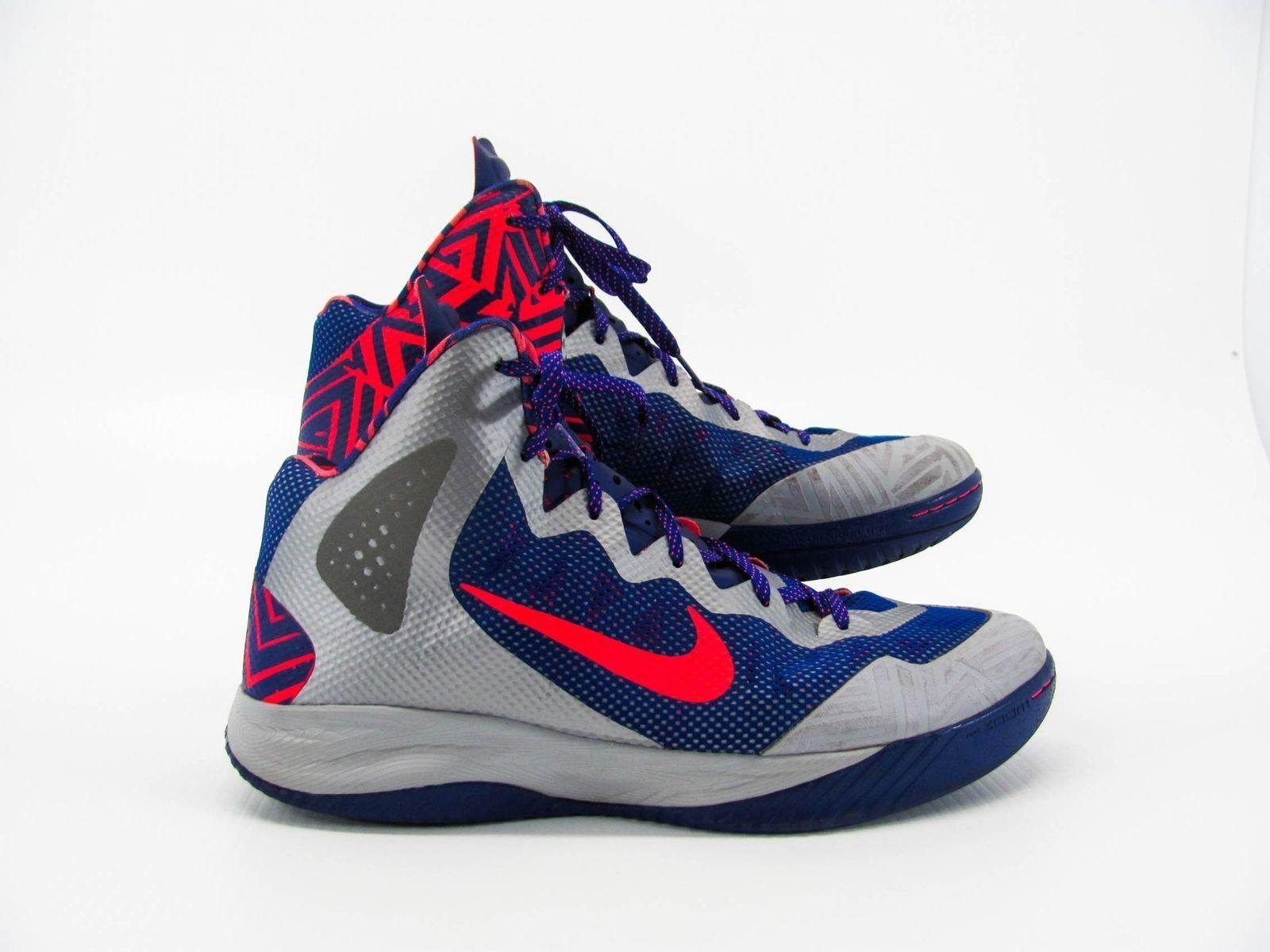 Nike Zoom Hyperenforcer Men Shoe 511370-003 US 15M Pre Owned PQ