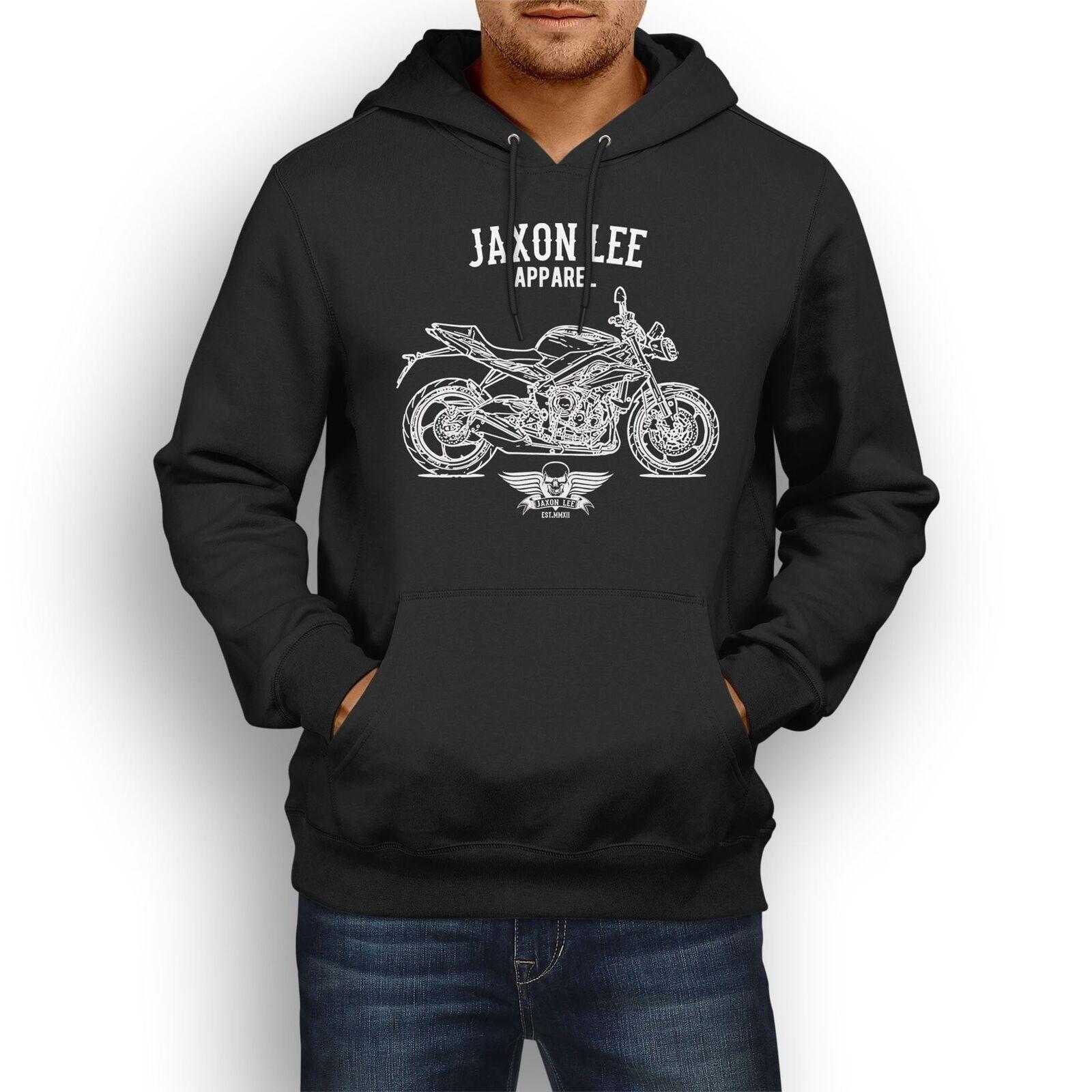 Jaxon Lee Triumph Triumph Triumph Street Triple 2016 inspirot Motorcycle Art Hoody | Ab dem neuesten Modell  4c80e2