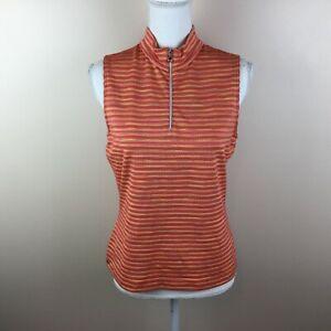 Tail-Tech-Golf-Small-Womens-Orange-Sleeveless-Top