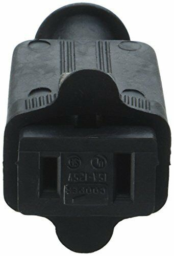 Black 86BK Cooper Wiring Devices Polarized Connector