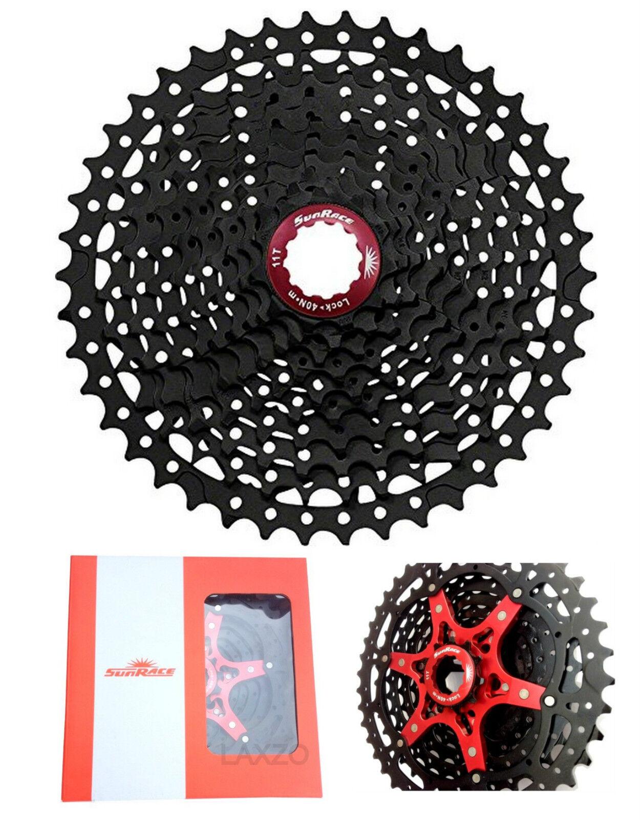 Sunrace Mx3 Große Auswahl Kassette Schwarz MTB 10-speed 11-42t für Shimano Sram   | Primäre Qualität