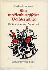 August Rust MECKLENBURGER VOLKSERZÄHLER Neumann Geschichten Mundart Plattdeutsch