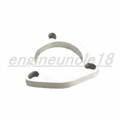 """2.5/"""" 64mm ID 3 Bolt Slotted Flange Exhaust Downpipe Pipe Catback Header SS304"""