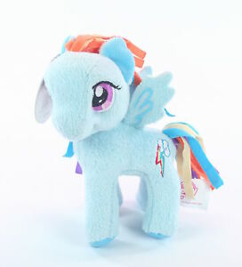 MY-LITTLE-PONY-cuddly-RAINBOW-DASH-5-034-plush-soft-toy-MLP-G4-NEW
