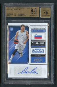 2018-Contenders-Draft-Picks-Luka-Doncic-RC-Rookie-Auto-BGS-9-5-Gem-Mint