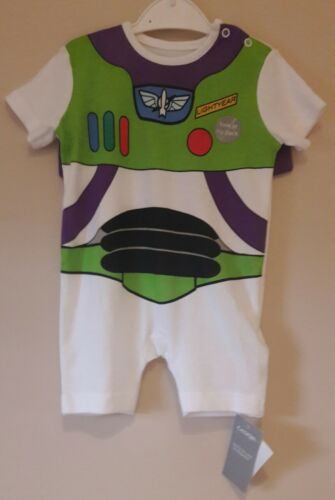 New Disney baby Toy Story Buzz Lightyear Romper All in one First size BNWT