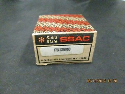 New box opened SSAC solid state timer TDIH120AL