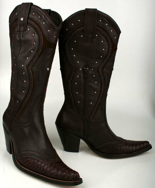Spooks Stiefel Santa Cruz Dark Brown Gr. 39