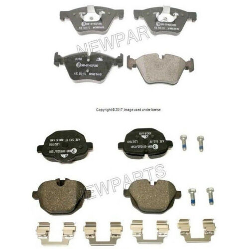 For BMW F10 528i xDrive 11-16 Front /& Rear Brake Pad Set Ate Ceramic