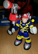 Rescue Heroes Night Patrol Sam Sparks Firefighter Fisher Price