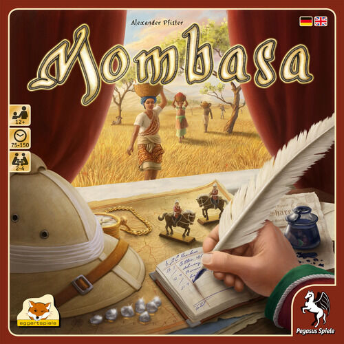 Mombasa Board Game - NEW